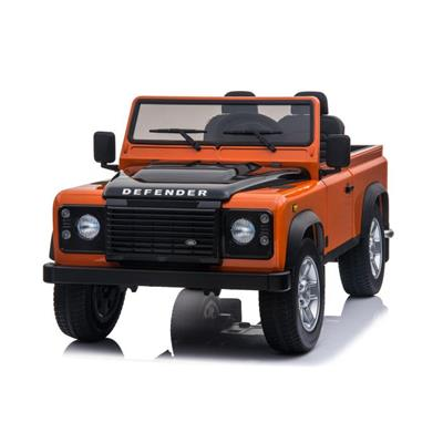 2x12 volts 4x4 Land rover Defender Safari orange voiture enfant electrique