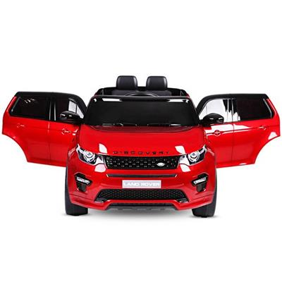 12 volts LAND rOVER Discovery MP4 rouge bordeau spray voiture enfant electrique