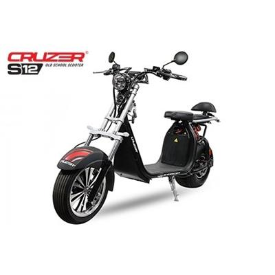 60 volts 1500 watts trottinette CRUZER S12 moto cruiser scooter electrique Citycoco lithium
