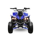 XL 48 volts Monster WARRIOR CARDAN 1000 watts 80 amperes quad electrique enfant 8 pouces METALISE
